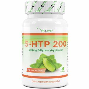 5-HTP - 100 Kapseln mit 200 mg - Griffonia-Samenextrakt
