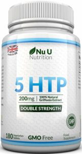 Nu U Doppelte Stärke 5-HTP Griffona Extrakt Tabletten